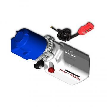 Pompa Idraulica Cilindro 7L Rimorchio Ribaltabile + Telecomandato +Linea